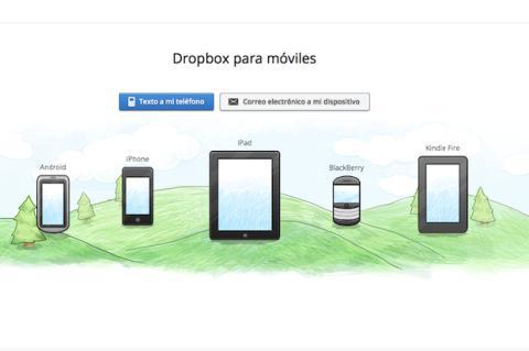 Configura la app de Dropbox en tu móvil o tablet