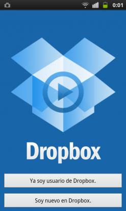 Descarga la app de Dropbox en tu móvil o tablet