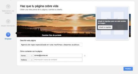 Añade imágenes y más información en la página de tu empresa de Google Plus
