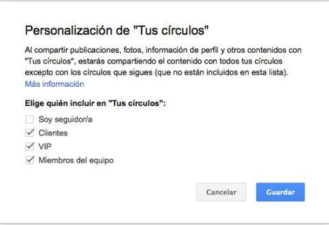 Ajusta la visibilidad de tus publicaciones en Google Plus