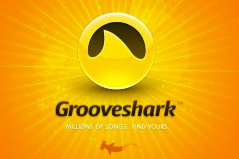 Crea una cuenta en Grooveshark