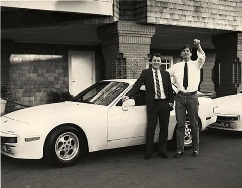 Steve Jobs y Craig Elliott