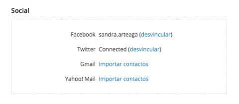 Sincroniza Dropbox con Facebook, Twitter, Gmail o Yahoo!