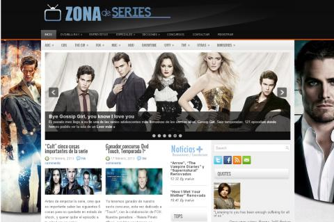 Las mejores webs de series
