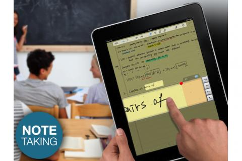 Escribe a mano en tu iPad con lápiz capacitivo