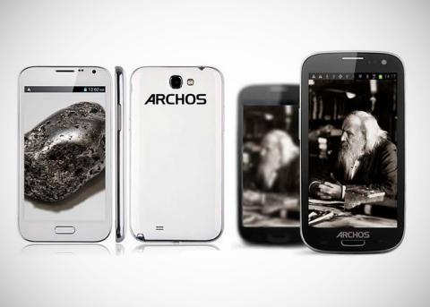 Archos 48 Platinum y Archos 32 Carbon.