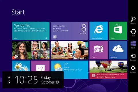 Cambia el bloqueo automático de acceso a Windows 8