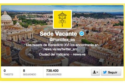 El Papa cierra su cuenta de Twitter (y se retira)