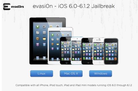 Descarga e instala evasi0n en tu ordenador para hacer jailbreak en tu iPhone o iPad