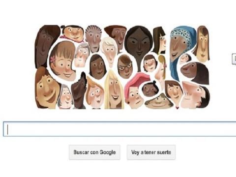 doodle google día de la mujer 2013