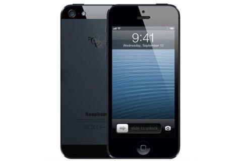 Ya está aquí el  iPhone 5S. Falso, claro...¡y con Android!