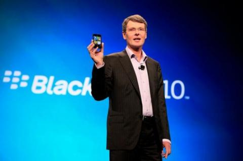 CEO Blackberry Thorsen Heins