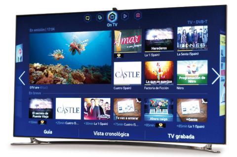 Samsung F8000, el futuro de las SmartTV ya está aquí