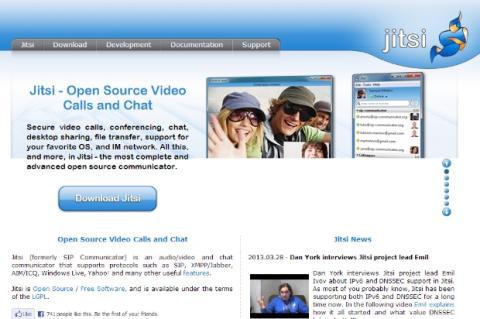 Jitsi, la alternativa libre a Skype