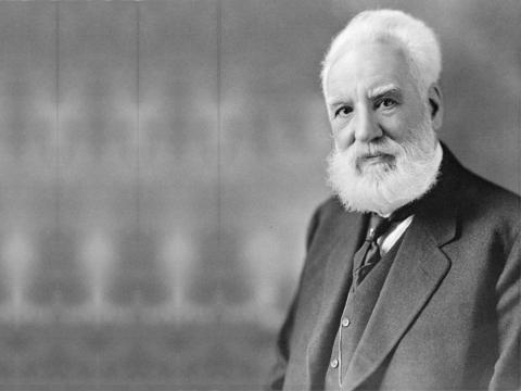 Alexander Graham Bell voz