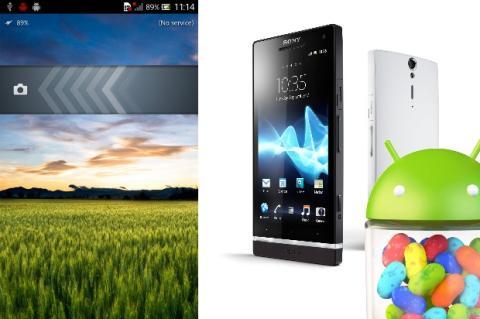 Android 4.1 Jelly Bean para Xperia S, para finales de mayo