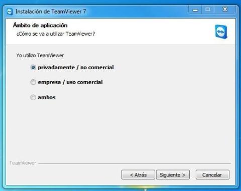Ventana Instalacion TeamViewer