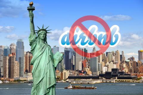 Airbnb prohibida en Nueva York
