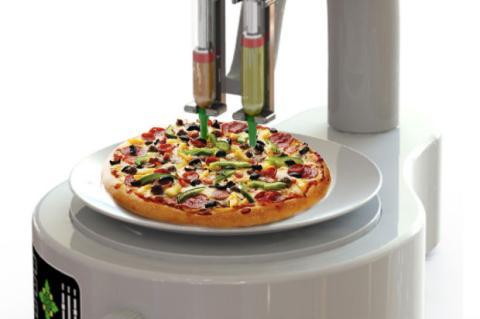 Impresora 3D de alimentos