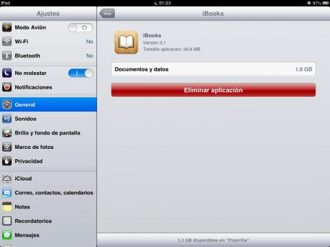 Elimina las apps que no uses