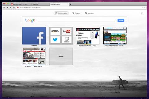 opera next navegador