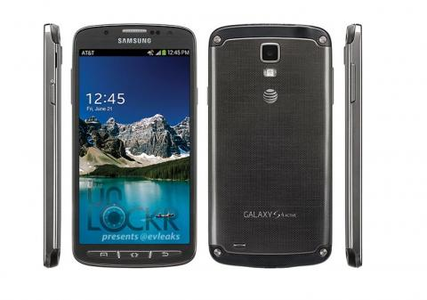 Galaxy S4 Active carcasa metálica resistente al agua