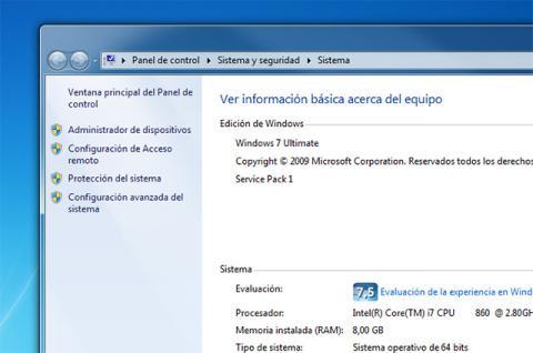 Acceder al Escritorio Remoto de Windows