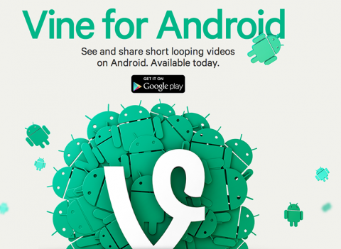 Vine para Android ya disponible