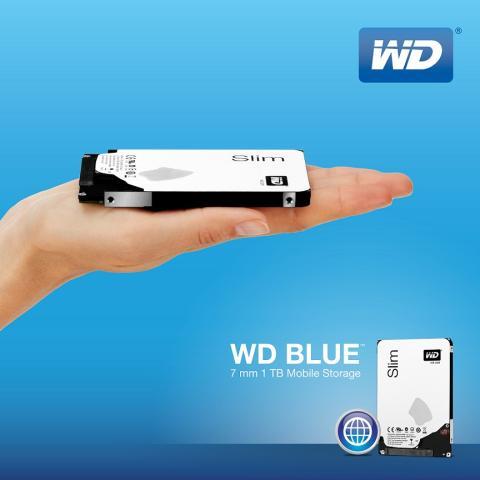 WD Blue, el disco duro más fino