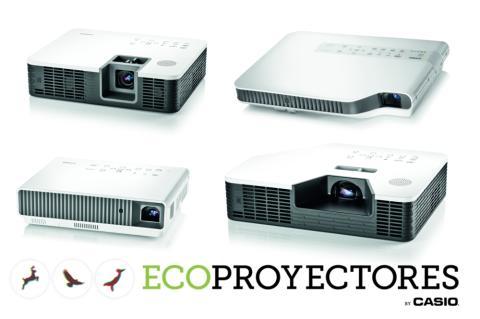 Ecoproyectores Casio