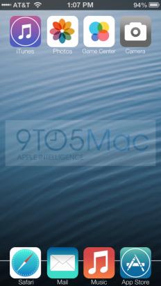 iconos planos iOS 7