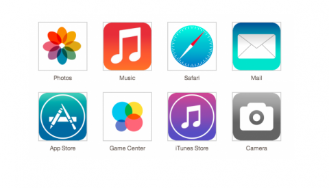 Primeras imágenes de iOS 7