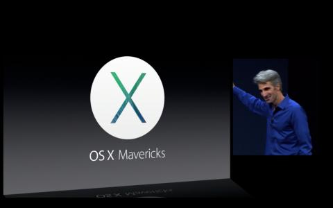 Mac OS X Mavericks, el nuevo sistema operativo de Apple