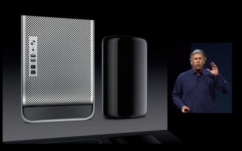 Nuevo Mac Pro presentado en el WWDC 2013 por Apple