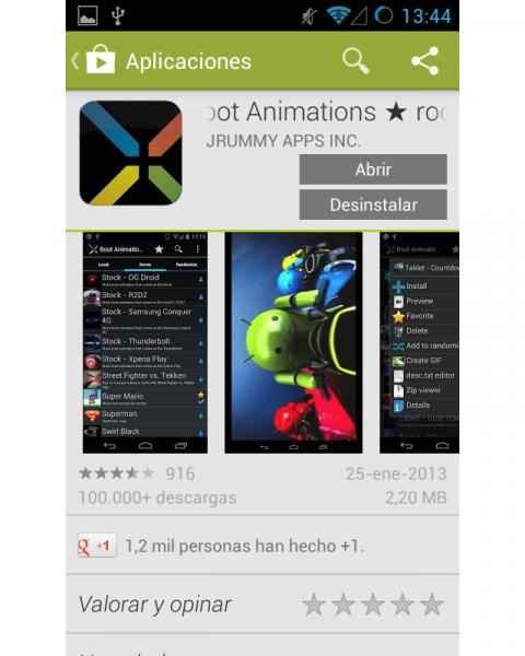 Instala Boot Animations root