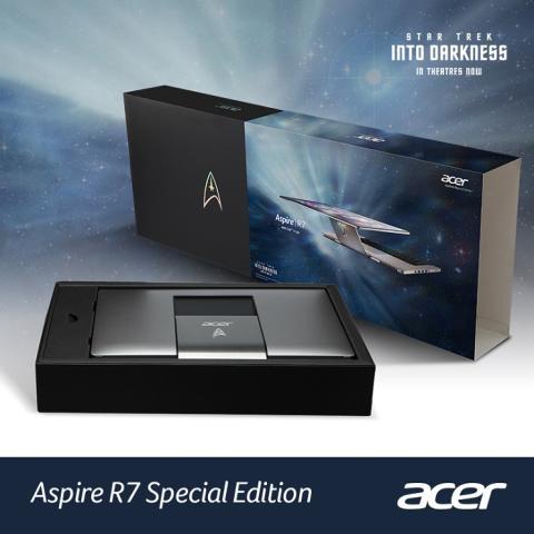 Acer subasta edicion especial del Aspire R7