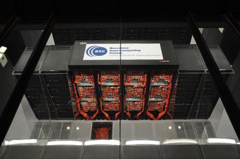 El supercomputador MareNostrum, puesto 36 en el Top500
