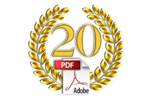 El PDF cumple 20 años, felicidades