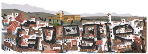 Doodle Milenio del Reino de Granada
