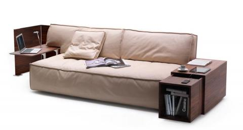 Cassina MyWorld, el sofá que carga tu smartphone
