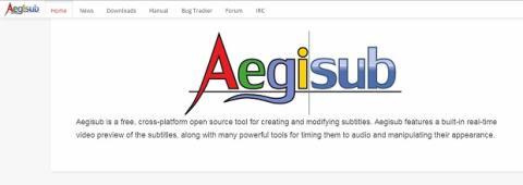 Descarga Aegisub desde www.aegisub.org