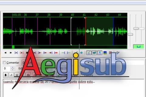 Sincroniza y repara los subtítulos dañados con Aegisub