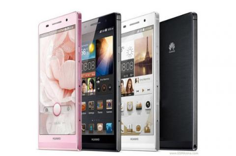 Huawei Ascend P6, nuevo smartphone Android para la gama alta