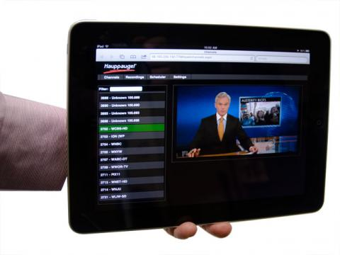 AndroiDTV posibilita ver la TDT en smartphone tablet