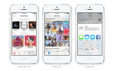 iOS 7 podría integrar LinkedIn en sus apps