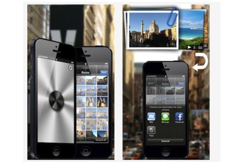 Adjunta varias imágenes o vídeos en iPhone y iPad