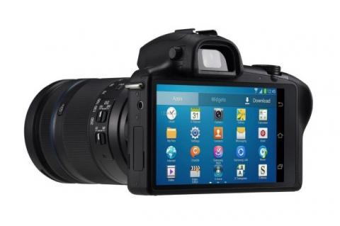 Galaxy NX cámara