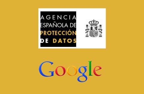 Agencia Española de Protección de Datos contra google