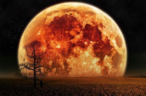 Luna de San Juan. Solsticio de verano