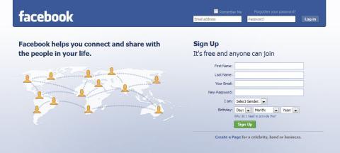 Otro servicio para Facebook